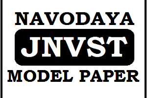 JNVST Model Paper 2019