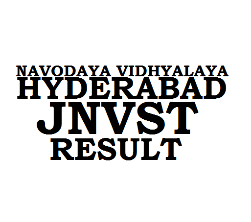 JNVST Result 2019 Hyderabad