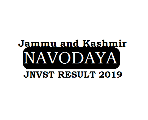 Navodaya Result 2019 Jammu and Kashmir