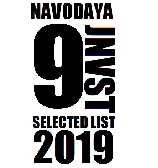Navodaya 9th Result 2019, Selected Candidate list
