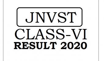 JNVST Result 2020