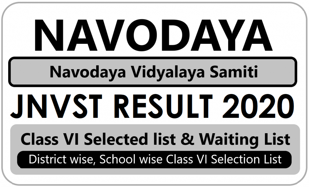 Navodaya Admission Certificate Verification Dates 2021