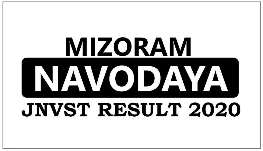 Navodaya Result 2020 Mizoram Selection List